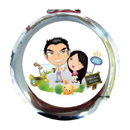 巧妝鏡(圓型)
